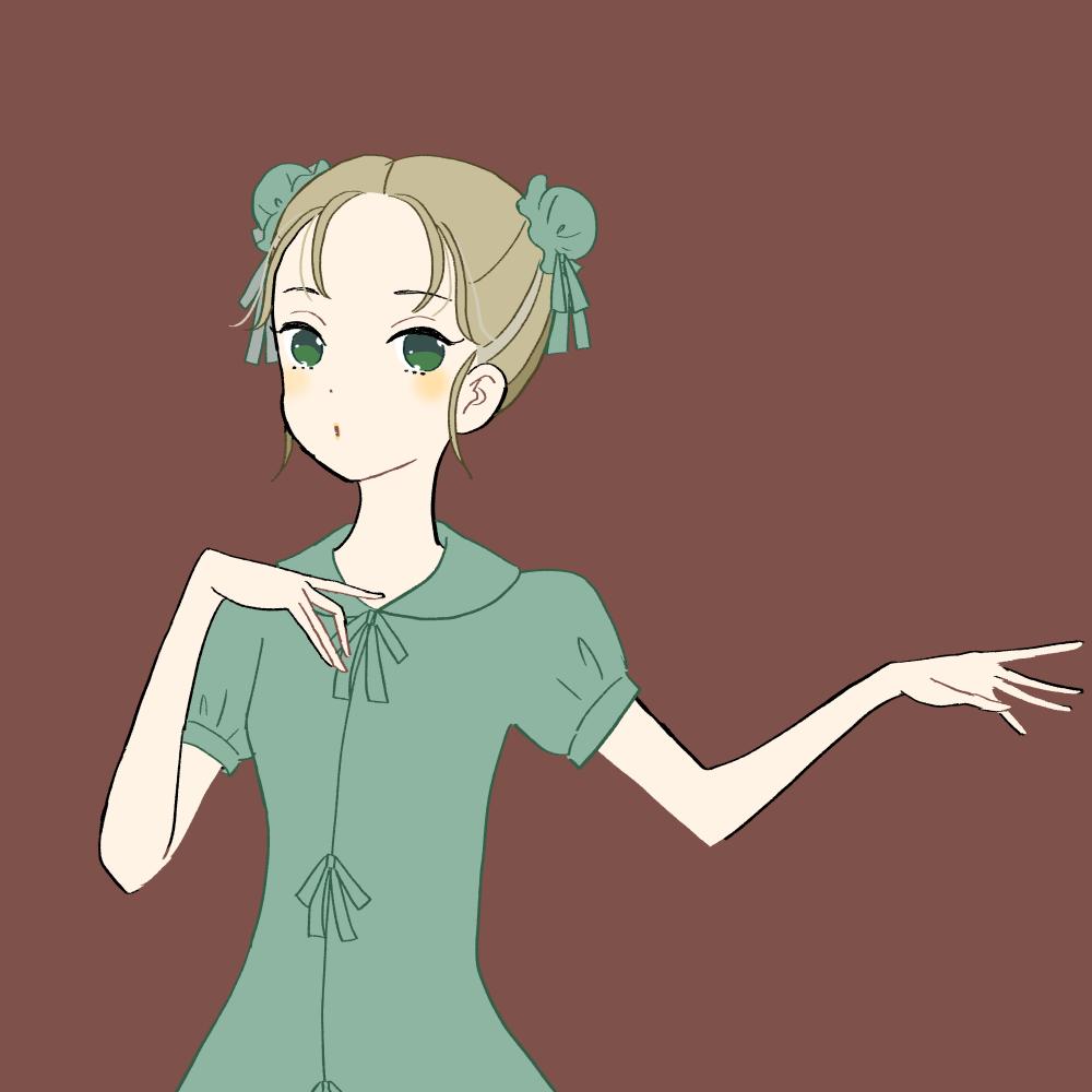 チャイナ服の女の子 イラスト素材