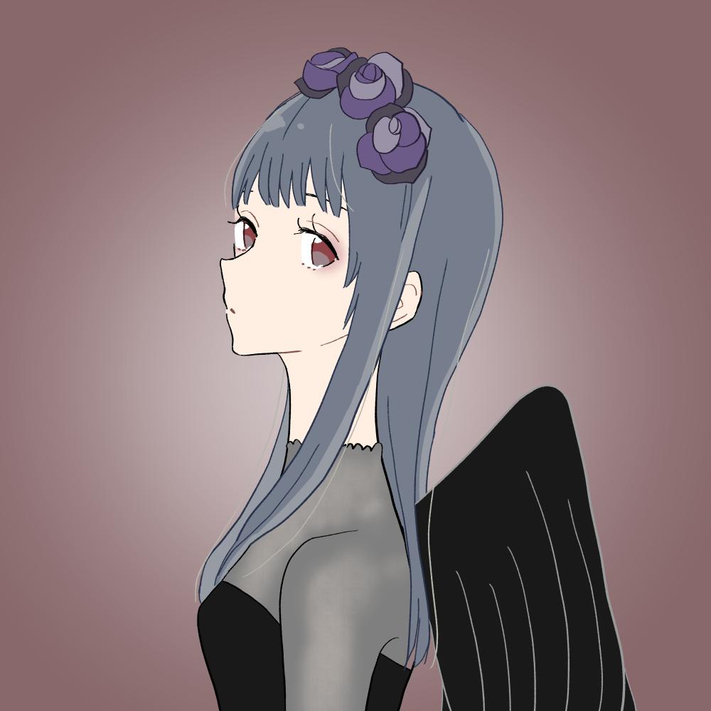 ハロウィン/悪魔風の女の子|イラスト素材
